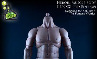 KAUSTIC PLASTIK HEROIK MUSCLE BODY KP02XXL
