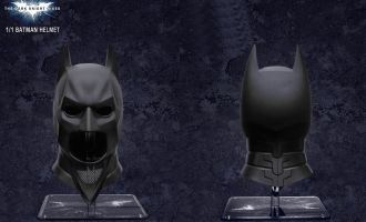 BRETOYS 001 BATMAN HELMET 1/1 THE DARK KNIGHT HELMET
