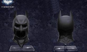 BRETOYS 001 BATMAN HELMET 1/1 THE DARK KNIGHT HELMET