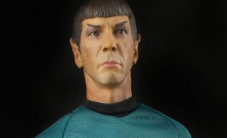 QUANTUM MECHANIX STR-0069 STAR TREK SPOCK