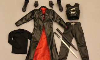CARVE ART CA002B BLADE SUIT ONLY COSTUM