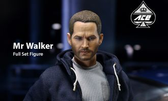 ACE TOYZ FAST&FURIOUS MR PAUL WALKEN BRIAN