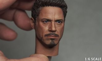 CHT-059 HEAD-SCULPT TONY STARK