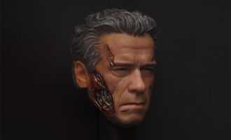 CHT-061 T800 HEADSCULPT DAMAGED VERSION