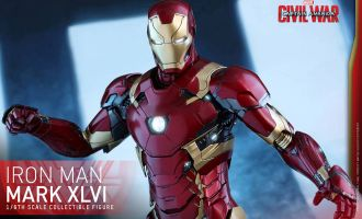 HOT TOYS MMS353D16 CAPTAIN AMERICA CIVIL WAR MARK XLVI