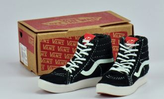MCTOYS SK8 VANS SHOES BLACK