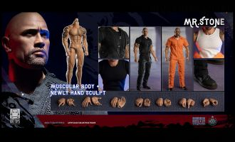 One Toys OT010 MR. STONE Dwayne Johnson Banner