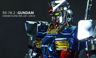 Bandai Spirits Perfect Grade Gundam RX-78-2 Chrome Plated Ver. 1/60 model kit