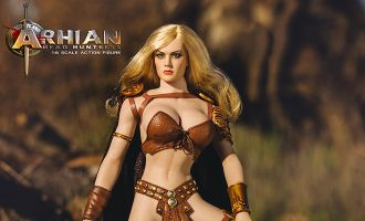 PHICEN PL2016-85 ARHIAN HEAD HUNTRESS ACTION FIGURES