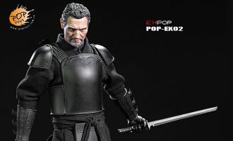POP TOYS POP-EX02 BATMAN BEGINS RAS AL GHUL THE LEADER OF SHADOW ALLIANCE MASTER NINJA ARMOR