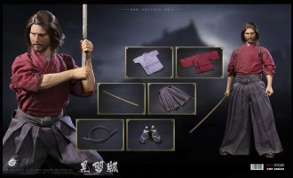 POPTOYS EX032 Devoted Samurai Trainee version The Last Samurai Tom Cruise Nathan Algren Banner