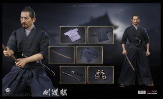 POPTOYS EX033 UJIO Brave samurai UJIO Kendo version The Last Samurai Banner