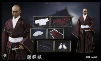 POPTOYS EX034 Katsumoto Benevolent Samurai Robes version Ken Watanabe The Last Samurai Banner