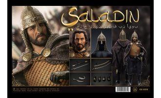 POPTOYS EX035 Nothing Everything Saladin Fine copper handmade armor Banner