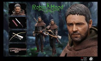 POPTOYS EX21-A Chivalrous Robin Hood Full figure Russell Crowe
