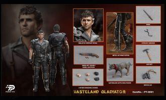 Premier Toys PT0001 MAD MAX 1/6 Wasteland Gladiator Banner