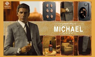 PRESENT TOYS  PT-sp09 The second Mob Boss The Godfather part II 1/6 Don Vito Al Pacino Banner