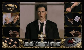 PRESENT TOYS PT-SP10 JOHN CONSTANTINE Hell Detective banner