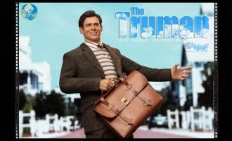 PRESENT TOYS PT-SP11 The Truman Show Jim Carrey banner