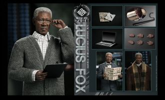 PRESENT TOYS PT-SP13 1/6 Weapon Master LUCIUS FOX Batman The Dark Knight Banner