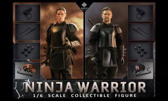 PRESENT TOYS PT-sp17 Double suit Ninja Warrior Batman Begins Ra's al Ghul Bruce Wayne banner