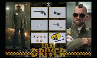 PRESENT TOYS PT-sp32 Taxi Driver Robert De Niro Travis Bickle Banner