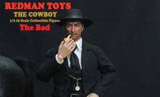 REDMAN-RM34-The-Good-the-Bad-and-the-Ugly-TOYS-Collectible-Figure-The-COWBOY-The-Bad-Banner