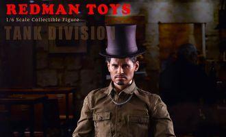 REDMAN-TOYS-RM037-FURY-TANK-DIVISION-Michael-Pena-as-Trini-Gordo-Garcia