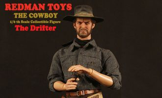 REDMAN-TOYS-THE-COWBOY-High-Plains-Drifter-CLINT-EASTWOOD-AS-LO-STRANIERO-SENZA-NOME