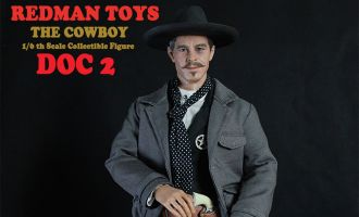 REDMAN TOYS RM012 DOC 2 THE COWBOY DOC HOLLIDAY