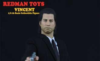 REDMAN TOYS PULP FICTION RM022 John Travolta Vincent Vega