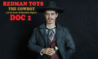 REDMAN TOYS RM011 THE COWBOY DOC VERSION 1 DOC HOLLIDAY