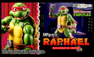 S.H.FIGUARTS TEENAGE MUTANT NINJA TURTLES RAPHAEL