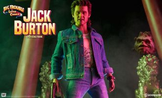 SIDESHOW BIG TROUBLE IN LITTLE CHINA JACK BURTON SIXTH SCALE