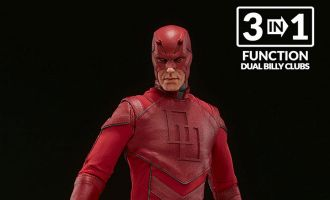 SIDESHOW COLLECTIBLES DAREDEVIL SIXTH SCALE FIGURE