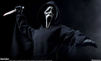 Sideshow Ghost Face Action Figure 1/6 Ghost Face Banner