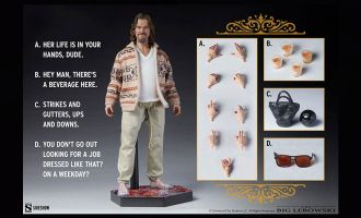Sideshow The Big Lebowski Action Figure 1/6 The Dude Banner