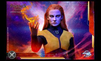 SoosooToys SST-015 Phoenix Lady X-Men Dark Phoenix Jean Grey Banner
