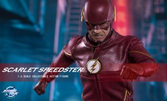 SOOSOOTOYS SST002 SCARLET SPEEDSTER FLASH