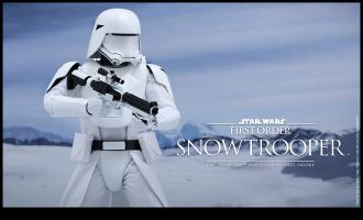 HOT TOYS MMS322 STAR WARS FIRST ORDER SNOWTROOPER