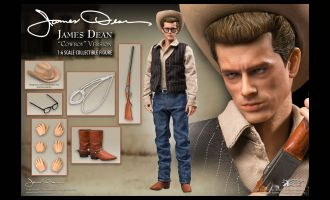 STAR ACE James Dean Action Figure 1/6 James Dean Cowboy