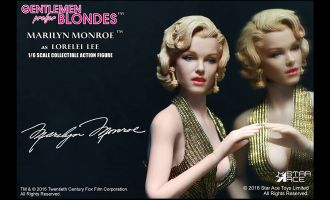 STAR ACE STAC0016 GENTLEMEN PREFER BLONDES MARILYN MONROE AS LORELEI LEE