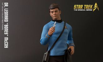 QMX STAR TREK THE ORIGINAL SERIES DR. LEONARD BONES MCCOY