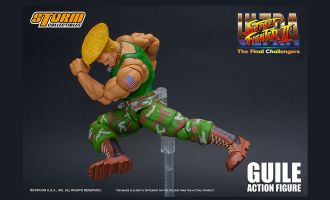 Storm Collectible Ultra Street Fighter II The Final Challengers Action Figure Guile
