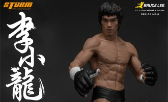 STORM COLLECTIBLES FIGURE SERIES No.2 BRUCE LEE PREMIUM MARTIAL ARTIST