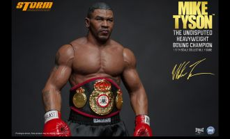 STORM COLLECTIBLES MIKE TYSON THE UNDISPUTED HEAVYWEIGHT BOXING CHAMPION 1/6TH SCALE COLLECTIBLE FIGURE