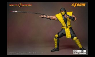 STORM COLLECTIBLES MORTAL KOMBAT SCORPION KLASSIC 1:12 SCALE ACTION FIGURE