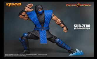 STORM COLLECTIBLES MORTAL KOMBAT SUB ZERO 1:12 ACTION FIGURE