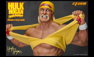 STORM COLLECTIBLES HULK HOGAN HULKMANIA PREMIUM 1/4 SCALE FIGURE