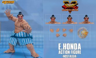 Storm Collectibles Street Fighter V Champion Edition Action Figure Honda Nostalgia Costume